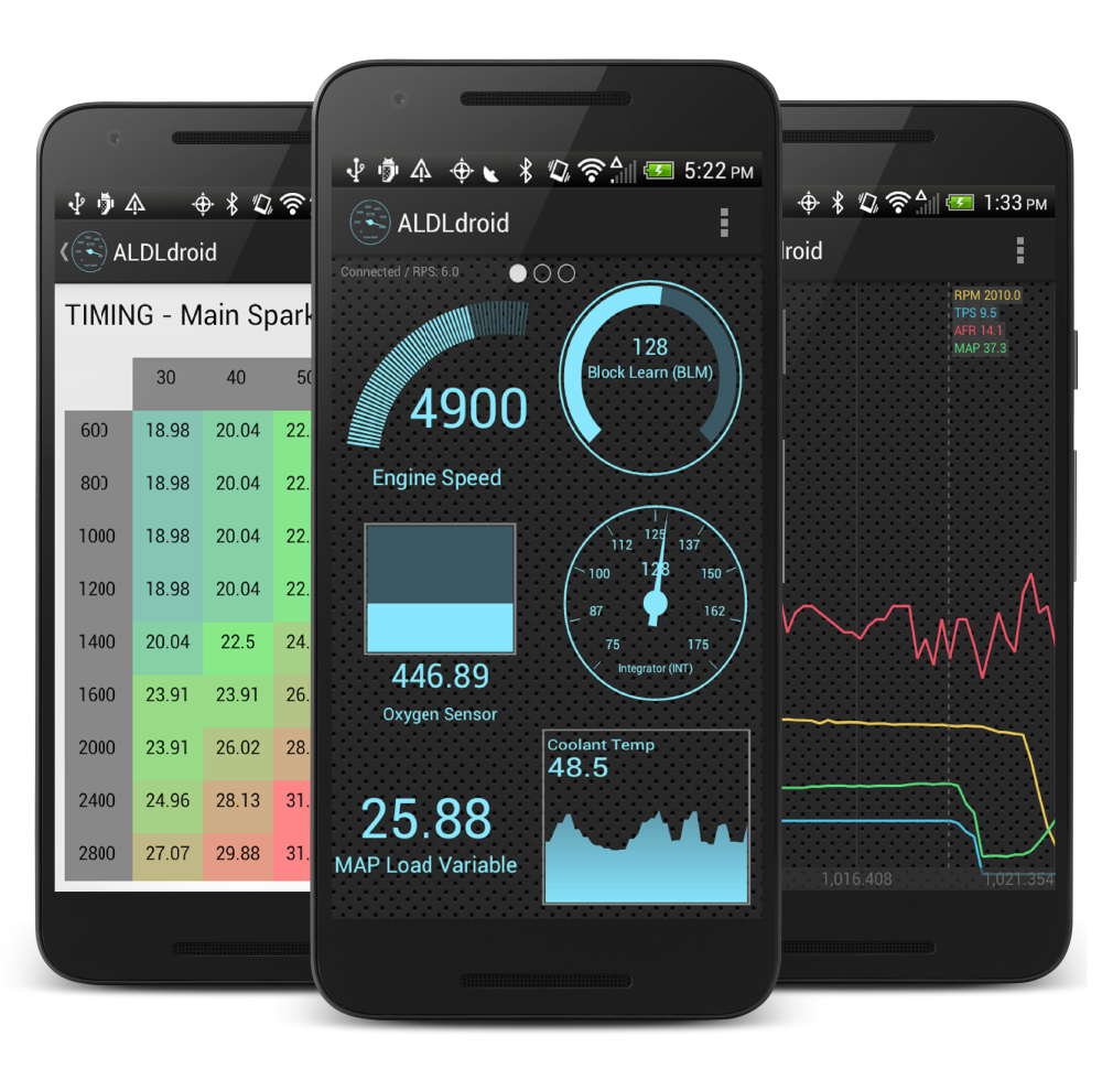 ALDLdroid - Android application for OBD-I GM ECUs (and more!)